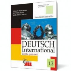 Limba germana Deutsch International L3. Manual pentru clasa a XI-a - Manual scolar