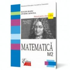Matematică M2. Manual pentru clasa a XII-a - Manual scolar all