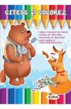 Citesc si colorez: Ursul pacalit de vulpe
