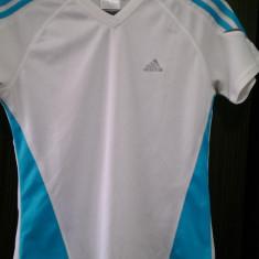 Oferta! Set 2x tricou Adidas, femei, marimea M, albe - Tricou dama Adidas, Marime: M