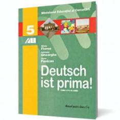 Deutsch ist prima. Manual de limba germană pentru clasa a V-a - Manual scolar all