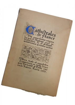 CATHEDRALE DE FRANCE - A. MAYEUR, 1920 foto