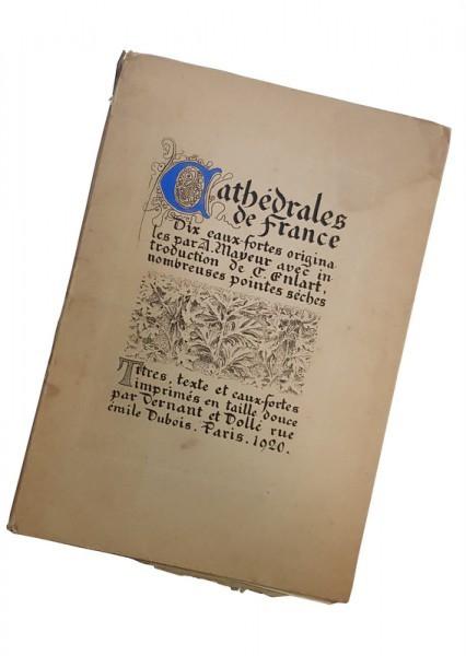 CATHEDRALE DE FRANCE - A. MAYEUR, 1920 foto mare