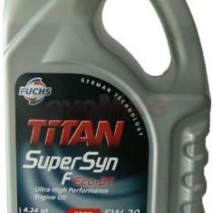 Ulei Motor Fuchs Titan Supersyn F Eco-DT, 5W-30, Diesel/Benzina, 4L