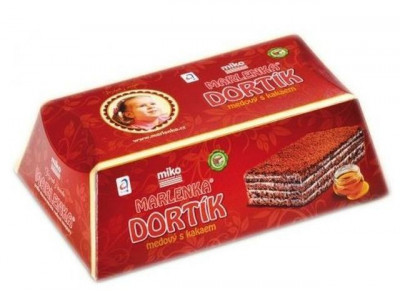 Tort Marlenka cu miere si cacao 100g Cook Home foto