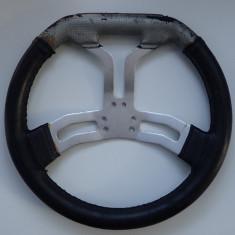 Volan ABE piele Tony Kart piese Karting original stare buna poze reale, Opel
