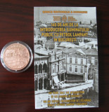 Romania - 1 Leu 2017 - Tombac -  160 ani Iluminat public Bucuresti - PROOF