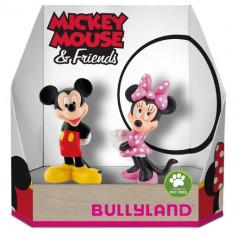 Set 2 Figurine Minnie si Mickey Mouse - Figurina Povesti Bullyland