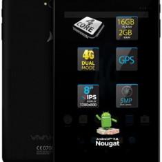 Tableta Allview Viva H802 LTE, Procesor Quad Core 1GHz, TN IPS LCD Capacitive touchscreen 8inch, 2GB RAM, 16GB, Wi-Fi, Android (Neagra)
