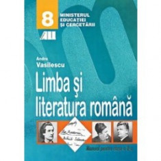 Limba si literatura româna. Manual pentru clasa a viii-a - Manual scolar all