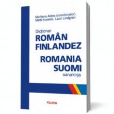 Dicţionar român-finlandez. Romania-suomi sanakirja polirom
