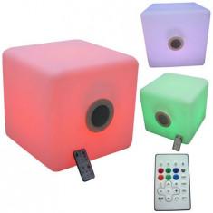 BOXA 3 inch/3W IP44 CU BLUETOOTH 12 LED-URI