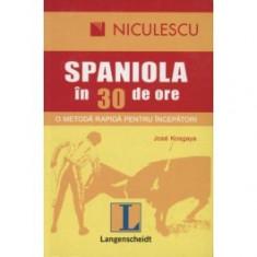 Limba spaniola in 30 de ore