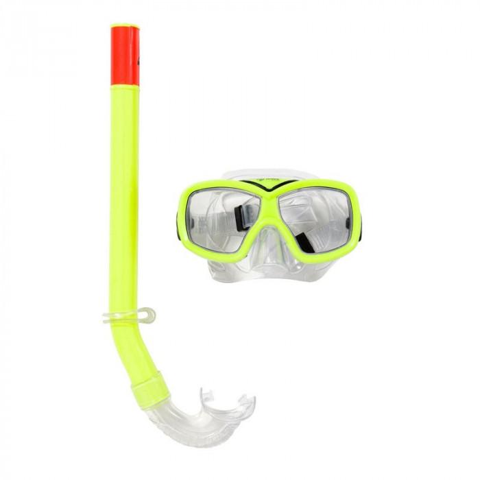 Set masca si tub pentru inot Wave Sports, 6-12 ani