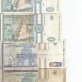 (B.D.G.) LOT 10 BANCNOTE ROMANIA. TAXE - GRATIS