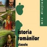 Istoria romanilor Cls 8 si 12 - Mic dictionar - Iuliana Voicu