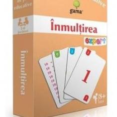 Inmultirea - Carti de joc educative - Carte educativa
