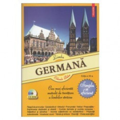 Limba germana - Simplu si eficient. Contine CD-ROM. (Ed. 12) polirom