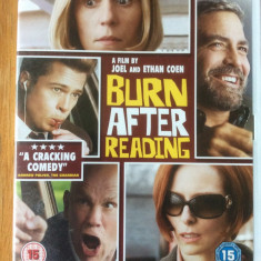 BURN AFTER READING - FILM DVD ORIGINAL - Film comedie universal pictures, Engleza