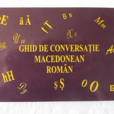 """GHID DE CONVERSATIE MACEDONEAN - ROMAN"", Laura Rogobete, 2010. Absolut nou"