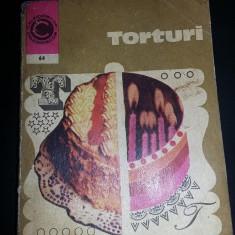 Carte VECHE,Irina Dordea-TORTURI,Carte cu torturi traditionale,Transp.GRATUIT
