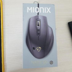 Mionix Naos QG GAMING MOUSE (senzor batai inima)