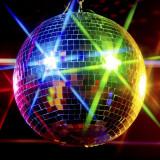 Glob disco cu insertie oglinzi, diametru 20 cm, decor party