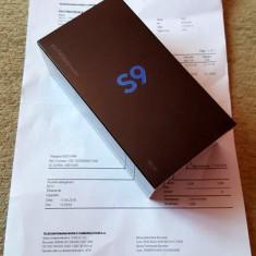 Samsung Galaxy S9 Negru - Dual Sim - 64 GB - Nou sigilat - Garantie - Telefon Samsung, Neblocat