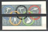 Romania.1960 Jocurile Olimpice ROMA  nedantelate  YR.280