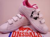 Adidas original Lonsdale Leyton piele naturala., 35.5, 37, 38, 39, Alb