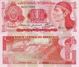 HONDURAS 1 lempira 1980 UNC!!!