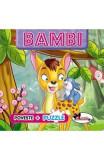 Poveste + Puzzle: Bambi