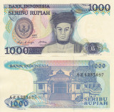 INDONEZIA 1.000 rupiah 1987 UNC!!!
