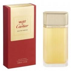 Apa de Parfum Cartier Must de Cartier Gold, Femei, 100ml - Parfum femeie