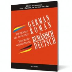 Dicţionar de buzunar german-român/român-german polirom