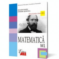 Matematică M1. Manual pentru clasa a XII-a - Manual scolar all