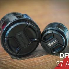 Oferta 2 obiective Nikon - Obiectiv DSLR