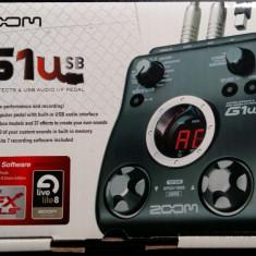 Procesor de sunet pentru chitara Zoom G1u - Procesor Chitara