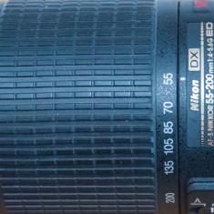Obiectiv Nikon 55-200 mm AF-S 1:4, 5.6 G ED, VR - Obiectiv DSLR