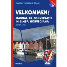 Velkommen! Manual de conversatie in limba norvegiana (contine CD) polirom