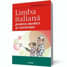 Limba italiana pentru medici si asistente polirom