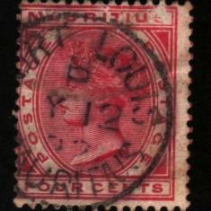 1879 mauritius mi. 53 stampilat
