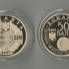 (B.D.G.) 50 BANI, LOT COMPLET PROOF 2007, TIRAJ 5000 BUCATI. TAXE - GRATIS - Moneda Romania
