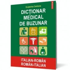 Dictionar medical de buzunar italian-roman/roman-italian polirom