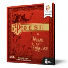 Mihail Eminescu. Poesii (audiobook - 4 CD-uri)