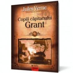 Copiii capitanului Grant - Roman