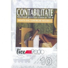 Contabilitate. Manual pentru clasa a 10-a - Manual scolar all