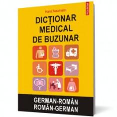 Dictionar medical de buzunar german-roman/roman-german polirom