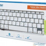 Tastatura Bluetooth pentru tablete 177887 Manhattan - Husa Tableta
