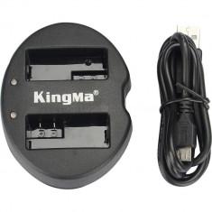 Incarcator KingMa USB dual EN-EL15 replace Nikon D7000 D7100 D7200 D800 D800E D810 D600 D610 1 V1 - Incarcator Aparat Foto